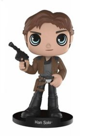 Star Wars Solo Wacky Wobbler Bobble-Head Han Solo 15 cm