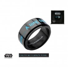 Star Wars Spinner Ring A long time ago in a galaxy far away? Siz