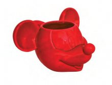Mickey Mouse 3D Hrnek Red