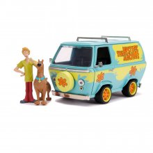 Scooby Doo Hollywood Rides kovový model 1/24 Mystery Van with F