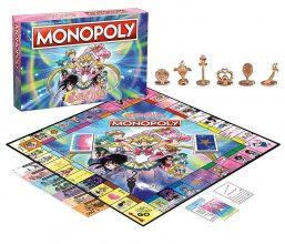 Sailor Moon desková hra Monopoly *English Version*