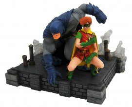 The Dark Knight Returns DC Comic Gallery PVC Socha Batman & Rob