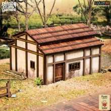Kensei ColorED Miniature Gaming Model Kit 28 mm Nomin House