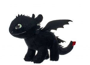 How to Train Your Dragon 3 Plyšák Toothless Glow In The Da