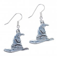 Harry Potter Sorting Hat Naušnice (silver plated)