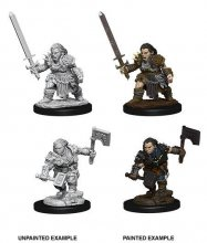 Pathfinder Battles Deep Cuts Unpainted Miniatures Female Dwarf B