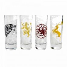 Game of Thrones panáky 4-Pack Sigils