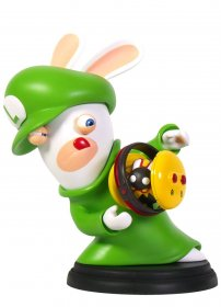 Mario + Rabbids Kingdom Battle PVC figurka Rabbid-Luigi 16 cm
