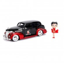 Betty Boop Hollywood Rides kovový model 1/24 1939 Chevy Master