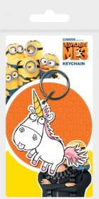 Despicable Me 3 Rubber Keychain Unicorn 6 cm