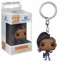 Overwatch Pocket POP! Vinyl Keychain Sombra 4 cm