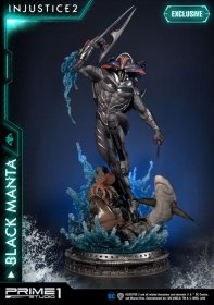 Injustice 2 Sochas Black Manta & Black Manta Exclusive 77 cm As