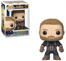 Avengers Infinity War POP! Movies Vinylová Figurka Captain Ameri