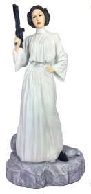 Star Wars Garden Ornament Coloured Leia 42 cm