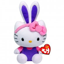 Hello Kitty plyšová hračka Purple Bunny Kitty 15 cm