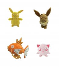 Pokémon Monochrome Plush Figures 20 cm Wave 2 Display (6)