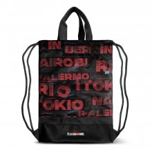 Money Heist Gym Bag Cities