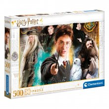 Harry Potter skládací puzzle Harry at Bradavice (500 pieces)