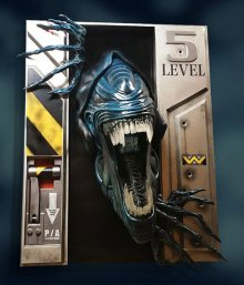 Aliens Life-Size Wall Sculpture Alien Queen 94 x 81 x 51 cm