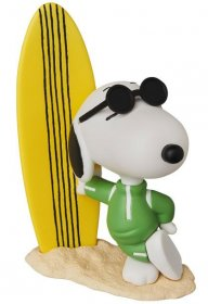 Peanuts UDF Series 8 Mini Figure Joe Cool Snoopy & Surfboard 9 c