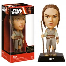 Star Wars Episode VII Wacky Wobbler figurka Rey 15 cm