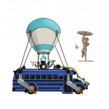 Fortnite Battle Royale Collection Playset Battle Bus
