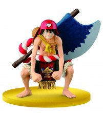 One Piece Film Gold SCultures Figure Big Zoukeio Special Luffy 1