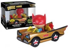 Batman POP! Ridez Vehicle with Dorbz Figure ?66 Batman Gold Batm