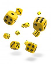Oakie Doakie Kostky D6 Dice 12 mm Solid - Yellow (36)