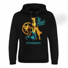 Captain Marvel hoodie mikina Fly High