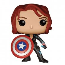Avengers Age of Ultron POP! figurka Black Widow With Shield