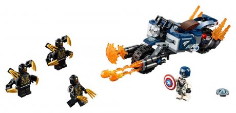 LEGO® Marvel Avengers - Captain America: Outriders Attack