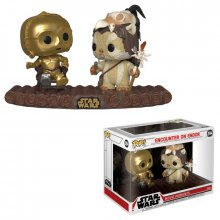 Star Wars POP! Movie Moments Vinyl Bobble-Head 2-Pack C-3PO on T