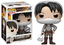 Attack on Titan POP! Animation Vinylová Figurka Cleaning Levi 9