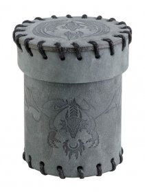 Flying Dragon Dice Cup Graphite Suede