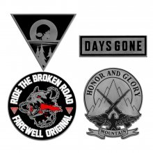 Days Gone Pin 4-Set Collection