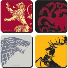 Game of Thrones podtácky 4-Pack