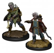 WizKids Wardlings Miniatures Zombie (Female) & Zombie (Male) Cas