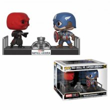 Marvel POP! Movie Moments Vinyl Bobble-Head 2-Pack Captain Ameri