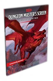 Dungeons & Dragons RPG Dungeon Master's Screen Reincarnated engl