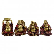 Sada mini sošek Golden Buddha 5 cm