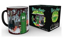 Rick and Morty Heat Change Mug Pickle Rick