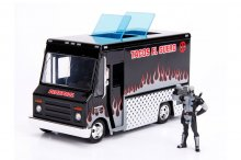 Deadpool kovový model 1/24 Deadpool Taco Truck X-Force Ver.
