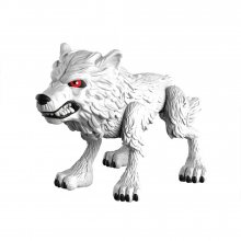 Game of Thrones Action Vinylová Figurka Ghost (Wolf) 8 cm