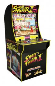 Arcade1Up Mini Cabinet Arcade Game Street Fighter II 122 cm