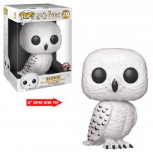 Harry Potter Super Sized POP! Vinylová Figurka Hedwig 25 cm