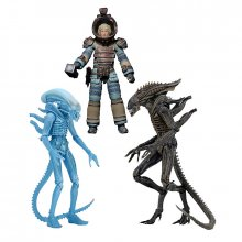 Aliens sada figurek Defiance Alien, Warrior Alien a Lambert
