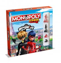 Miraculous: Tales of Ladybug & Cat Noir desková hra Monopoly Jun