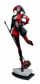 DC Comics Statue Harley Quinn by Stanley Lau Sideshow Exclusive