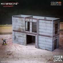 Post Apocalypse ColorED Miniature Gaming Model Kit 28 mm High-Se